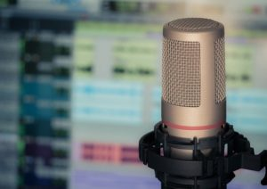 mikrofon śpiewanie